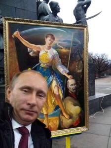 Фотожаба Путин-Савченко