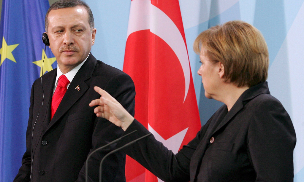 Меркель объявила ультиматум Эрдогану
