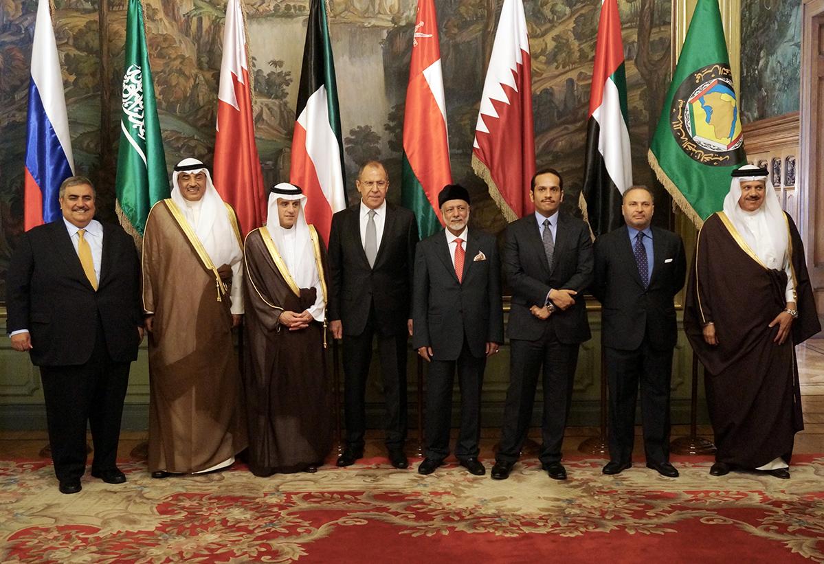 Встреча в Москве министров иностранных дел арабских стран