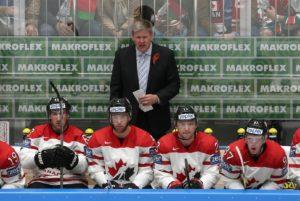 Канадский тренер с георгиевской лентой