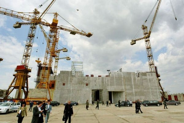 """АЭС """"Белене"""" в Болгарии. Теперь уже не достроят."""