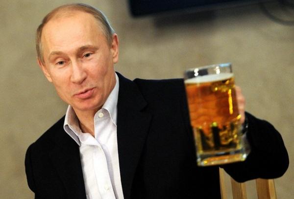 Путин с пивом