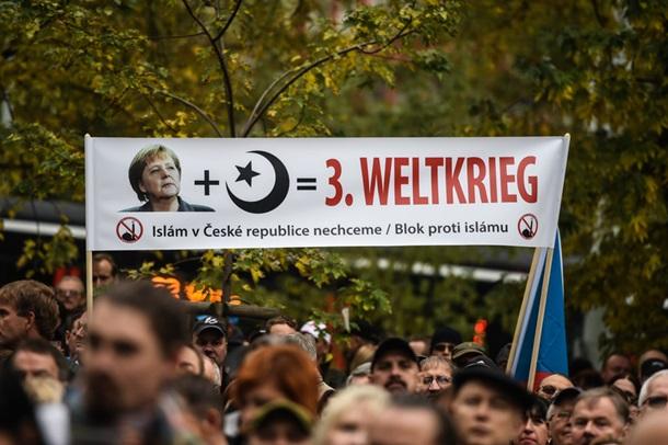 Чехи против мигрантов