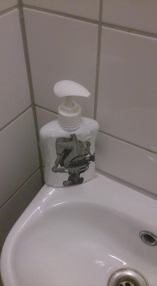 Креативный дозатор мыла