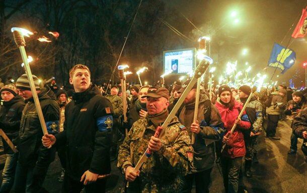 На Украине фашизма нет, ага-ага...