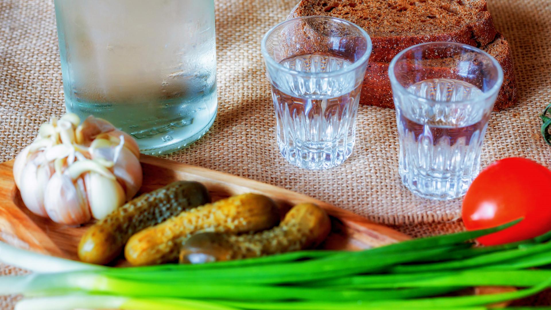 водки и закуска